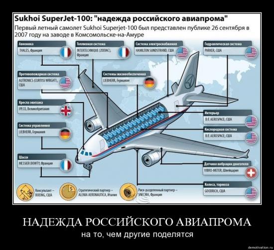 Надежда российского авиапрома