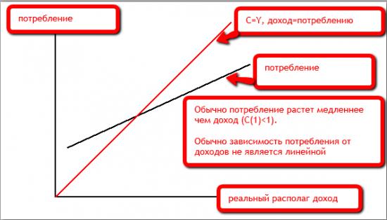 Потребительская функция