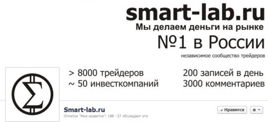 Smart-lab.ru на Fecebook