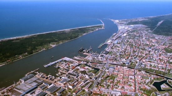 экономика Литвы, порт Клайпеда