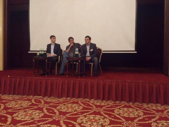 Роман Сульжик, Валерий Скотников, опционная конференция Киев 2013
