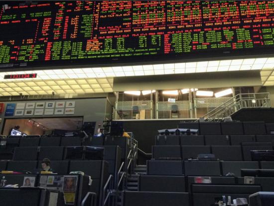 Чикагская биржа - торговый зал. Еще немного фотографий