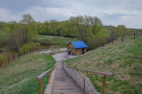 Купель святой источник Папоротка Тульская область