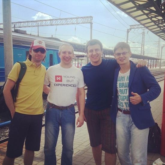 Тимофей Мартынов, Олег Мубаракшин, Александр Жаворнков, Михаил Гусев