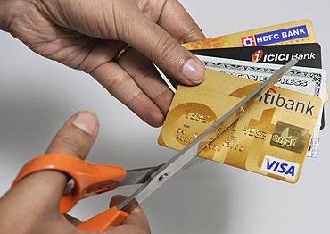 Кредитная карта зло!