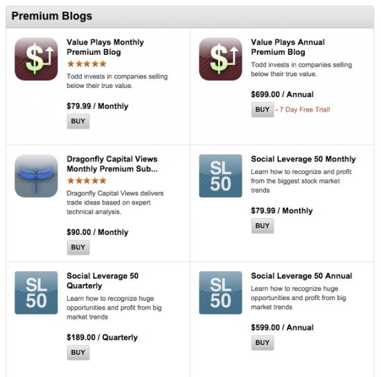 Может сделать на смартлабе платные блоги?