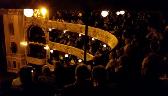 Дания. Копенгаген. Королевский театр.