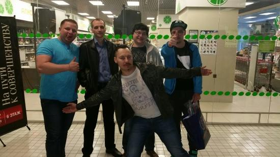 Андрей Мурманск, Андрей Беритц, Александр Ситник (рокибит) и два питерских тру трейдера