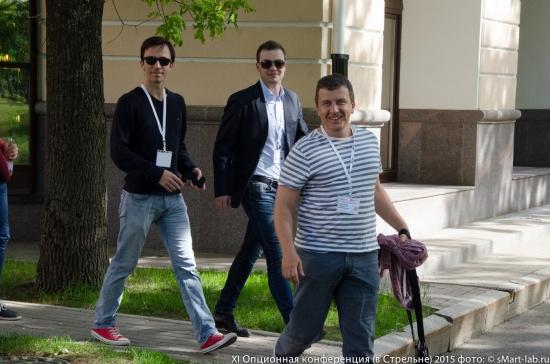 Александр Муханчиков, Олег Ельцов (Росевробанк), Александр Жаворонков
