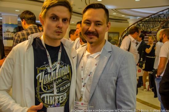 Тимофей Мартынов и Андрей Беритц