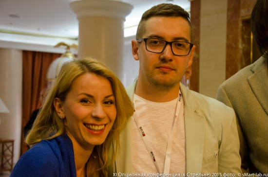 Александр Ситник (рокибит) с женой
