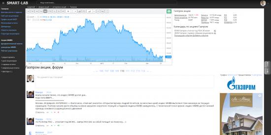 Посмотрите новый дизайн форума акций