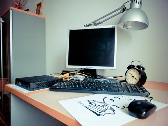 Как работают системы Мартынова и Муханчикова у меня на столе (фото).