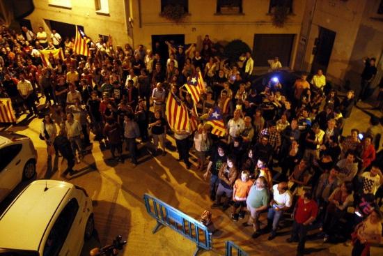 Каталонский город провозгласил свою независимость