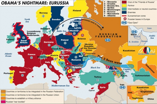 Obama's Nightmare: EuRussia