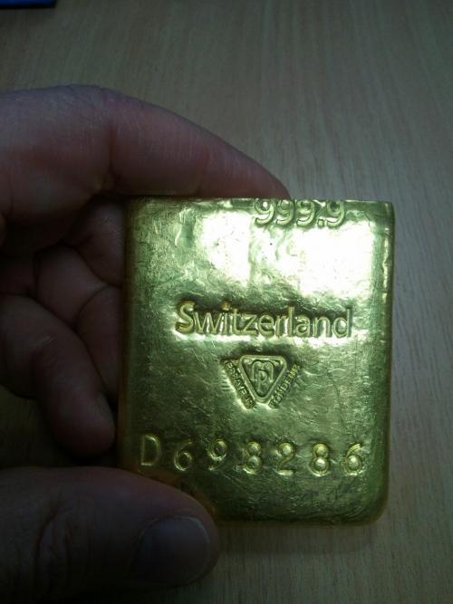 Вольфрам в золоте.