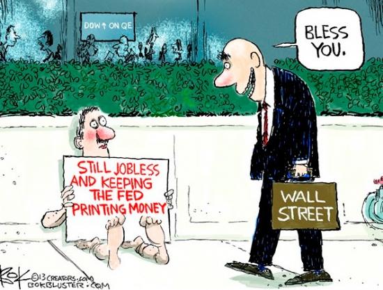 Коротко о политике ФРС в двух картинках