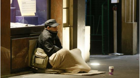 Каждый пятый британец живет за чертой бедности.