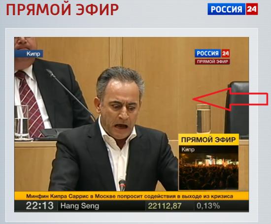 НА РОССИЯ 24 прямой эфир с КИПРА!  - там реально скандал !!! там жесть что говорят!!!