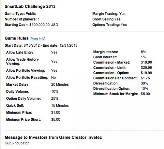 Турнир: SmartLab Challenge 2013