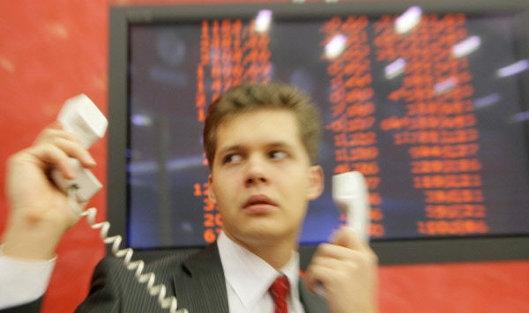 Проблемы на бирже ММВБ