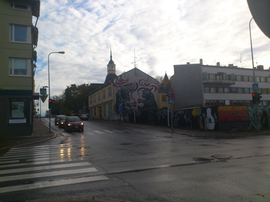 Тематическое произведение искусства. Финляндия. Лаппеенранта.