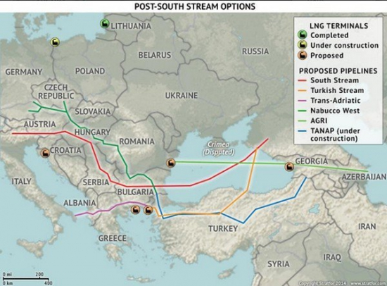 Американцы хотят вытеснить Россию из европейского энергетического рынка.