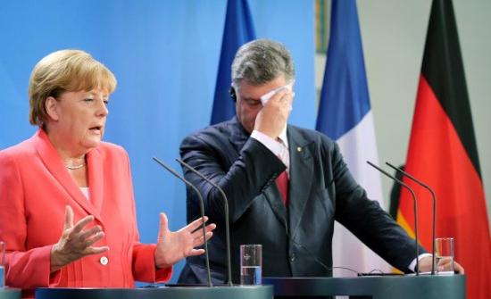 Евросоюз перед разбитым корытом: Украина погрязла в хаосе.