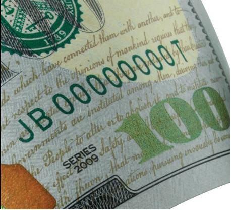 Конспирологическая версия о будущем золотом стандарте или тайный смысл новой сто долларовой банкноты