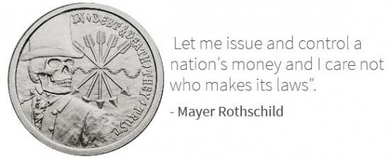 Серебряные коллекционные монеты, как символ банкирского дома Ротшильдов и могущества британской короны. Альтернатива - протестные монеты.