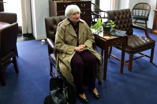 ФРС.  Первое выступление Йеллен