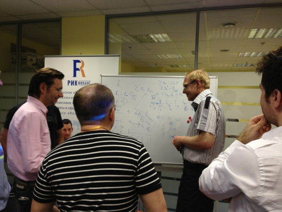 Алесандр Горчаков сегодня на встрече клуба H2T