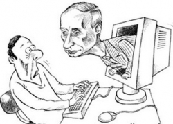 Пророческие слова Путина...(пыль в судах)