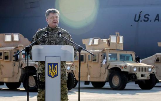 Украина получила первые бронемашины из США