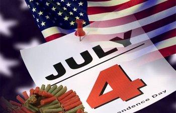 День независимости США 4 июля. И перенос статистики по безработице