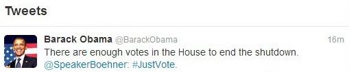 Обама получил голоса в Палате