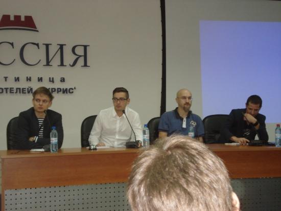 Встреча сМарт-Лаба в СПБ 22.09.2012г.