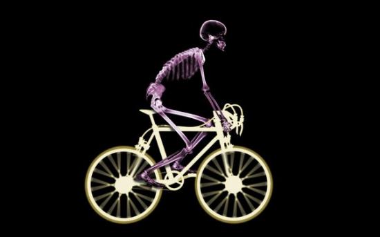 Велосипедист — бедствие для экономики