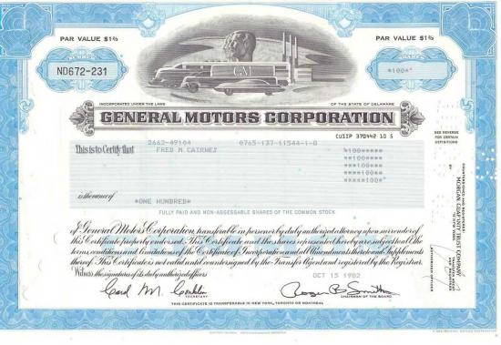 General Motors Corp. – компания-банкрот. Подскажите где можно найти данные по компании, которой уже не существует???