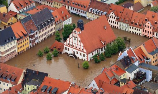 Наводнение в Европе - вызовет падение рынка?! а позже рост...