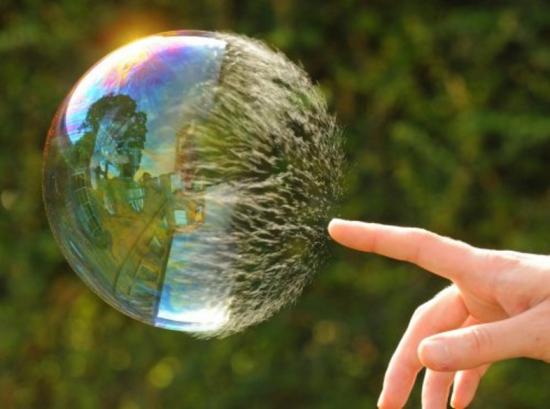 Как распознать пузырь в режиме реального  времени.