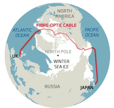 Из Токио в Лондон через Арктику