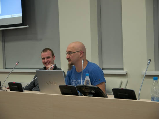 Никита Масюков и Алексей Каленкович