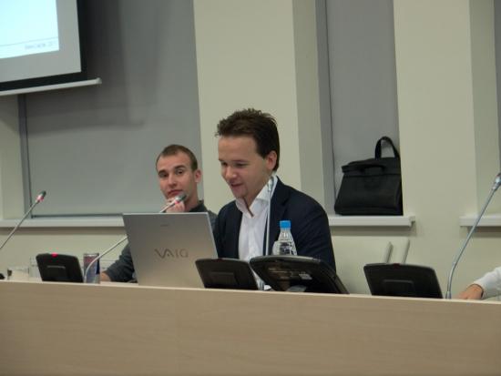 Никита Масюков (robot_Panda) и Дмитрий Белоусов