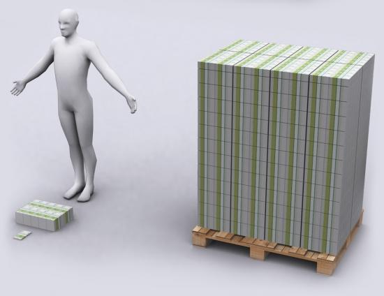 Визуализация греческого долга