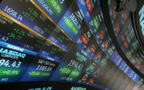 HFT trading stocks digits market