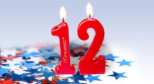 Инвестиционной компании «Ай Ти Инвест» сегодня исполняется 12 лет!