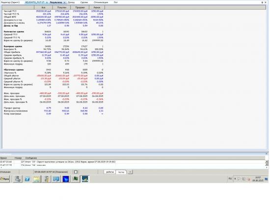Тупики разума... ХФТ потенциальная доходность рынка... 1мио пунктов ри в день