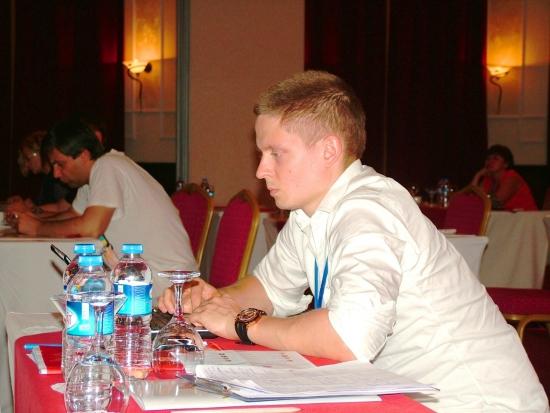 Тимофей Мартынов на SSH 2013 Анталия