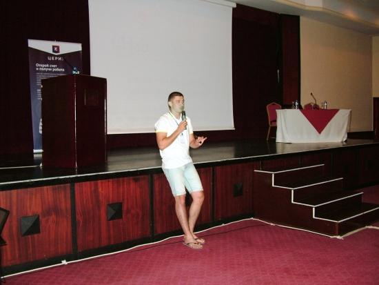 Дмитрий Бондарь на SSH 2013 Анталия